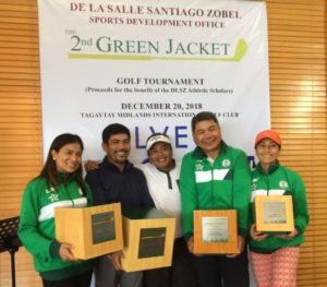 2nd Green Jacket Golf